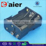 Daier 6AA battery holder without wire back to back