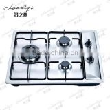 kitchen use 3 burner european <b>style</b> stainless steel <b>built</b> in <b>gas</b> <b>stove</b> top