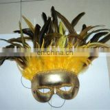 party carnival masquerade feather dance mask MPM-065