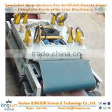 Foshan Kingsun press for quartz stone slab/7.5/15kw Vacuum pump power artificial quartz stone pressing machine