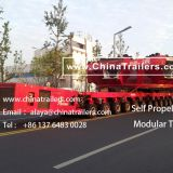 ChinaTrailers manufacture Modular Trailers fully compatible with original Goldhofer THP/SL for Argentina