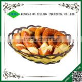 Cheap food standard bulk french plastic bread basket