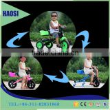 Multi-functional Kids Tricycle And Children Swing Bike 3 in 1