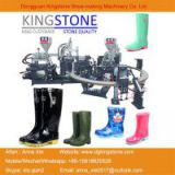 Two Color Plastic Rain Boots Injection Moulding Machine