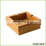 Bamboo Square Design Ashtray Cigar Ashtray Homex BSCI/Factory