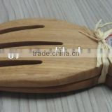 Factroy Price Bamboo Salad Serving Hand