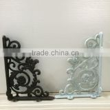 Factory supply cast iron shelf l bracket heavy duty wall bracket