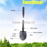 5 in 1 multifunction modern agriculture tools folding pickaxe and shovel