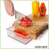 Modern Organic Bamboo Chopping Board Meat Cheese Cutting Board Set/Homex_Factory