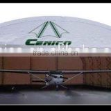 Fabric Building Structure , Heavy duty storage shelter, Aircraft Hangar, Metal Prefabricated Building