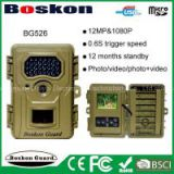 New manufacturing product BG526 ultra fast response time long standby time scouting cameras