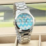 alibaba new [products 2014 newest women watch, stainless steel latest wave branded bracelet watch