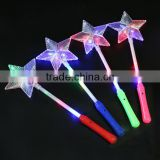 Five-pointed star light sticks/Colorful star glitter glow stick/Party celebration stick