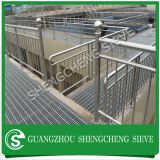 Economy anti-rust steel stanchions galvanized ball joint handrail wholesale