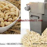 Commercial Almond Sliver Cutting Machine|Peanut Strip Cutter Machine