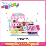 plastic ice cream store toys with music and light