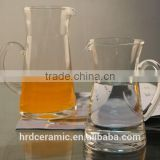 Hot Sale 12750ml Transparent glass jug and cup/drinking glassware