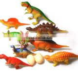 8 PCS Emulational Vinyl Assorted Dinosaurs Toys Dinosaurs Figures Play Set