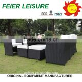 7pcs dining set pool chairs