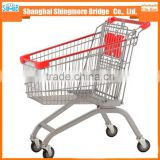 hot selling high quality cheap price shopping cart, trolley cart, shopping trolley for super market