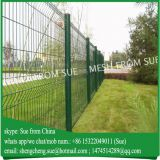 2.5m high pvc coating fence panels iron fence