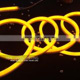 Promotion 12V <b>Yellow</b> LED Neon <b>Rope</b> <b>Light</b> for Party Decoration