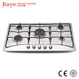 Jiaye Group Stainless steel gas hob/86cm kitchen gas stove/Built in 5 burner gas cooker JY-S5083