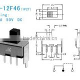 SS-12F46 slide switch