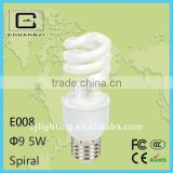 E008 Spiral Energy Saving Lamp cfl parts