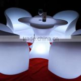 illuminated rotational Infrared Remote control led lumious chairs and table