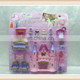 cheap christmas toy plastic princess castle toy
