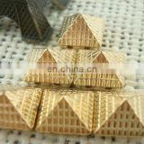 Pyramid plastic studs for clothing decorative