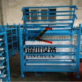Standard Automobile Spare Parts Storage Warehouse Racking Blue ISO