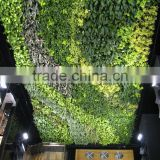 1m x 1m artificial hand plastic stickers home garden green 3d wall hanging decoration EZWQ01