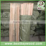 120*2.8cm foldable mop stick,wooden handle walking stick