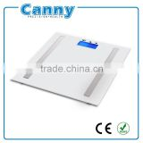 factory cheap silk printing 6mm or 8mm tempered glass 150kg or 180kg Body Fat Analyzer with CE RoHS PAHS