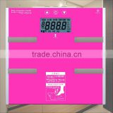 Tempered glass platform 150kg 100g bluetooth body fat weighing scale                                                                         Quality Choice