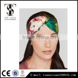 Silk satin headband bowknot hair accessories for women