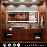 FOTO LED Backlit Glass Bathroom Mirror