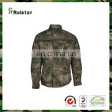 New Pattern Poly/Cotton A-tac Camouflage ACU Army Police Uniform