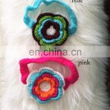 NEW Baby Girl Crochet Large Flower Knit Headband