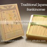 Japanese high quality incense for gift store suppliers