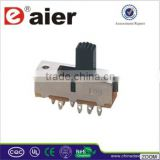 Daier SS23F02 3 position slide switch
