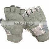 Half finger Police Tactical-Hard-Knuckle and Military finest camo shooting and hunting gloves