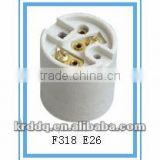 F318 E26 electrical ceramic lamp holder