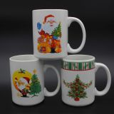decal porcelain coffee mug gift product promotion can be OEM
