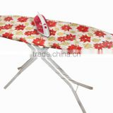 good quality flower design iron board cover,cotton magic ironing board cover