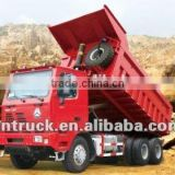stable long guide oil lifting hoist for tipper / dump truck