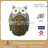 Garden Owl Sculpture Animal Yard Decoration Garden Craft