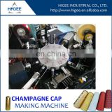long champagne cap machine